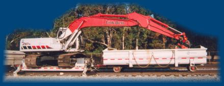train track maintenance vehicle